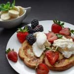 French toast with ricotta