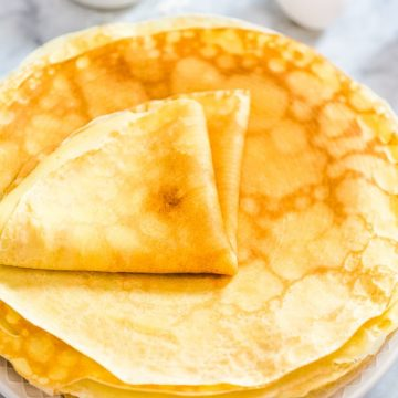 This is a simple, foolproof, and tasty Sweet Crepes recipe. Follow my step-by-step photos or video instructions to make this scrumptious treat at home.