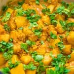 This is a simple, tasty, and foolproof Potato Curry recipe. Made with coconut milk, this dish is filling, creamy, and suitable for vegans.