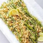 green beans with breadcrumbs