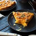 healthy pumpkin ricotta pie