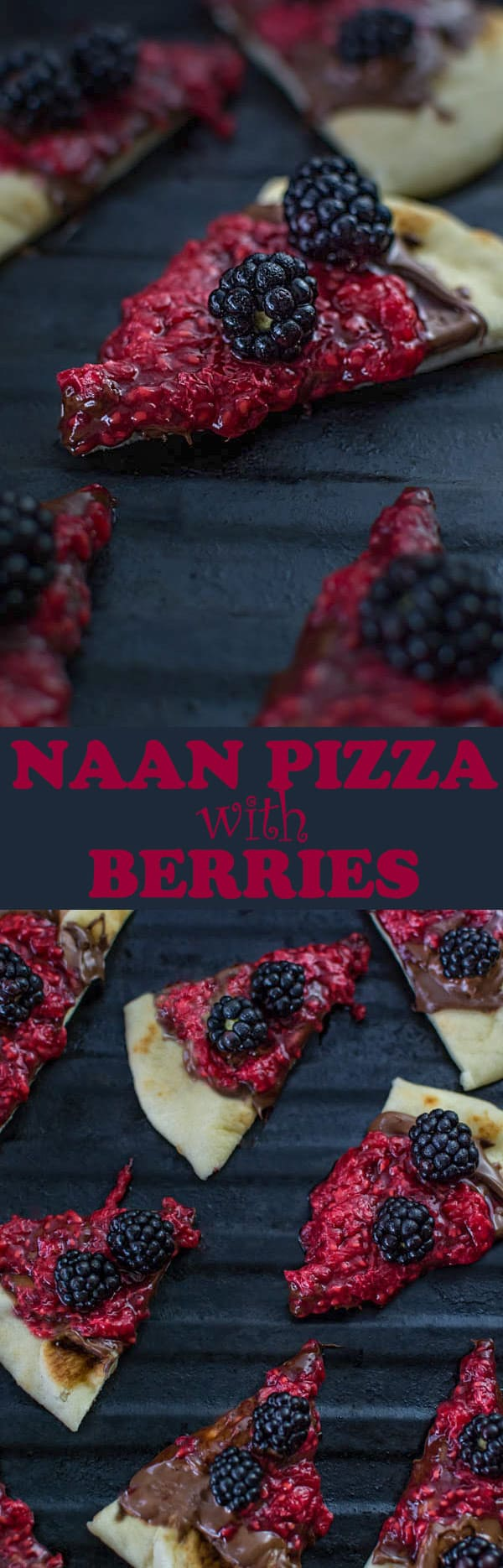 Enjoy this simple dessert in just 10 minutes! All you need is naan bread, Nutella and some berries! ❤ COOKTORIA.COM