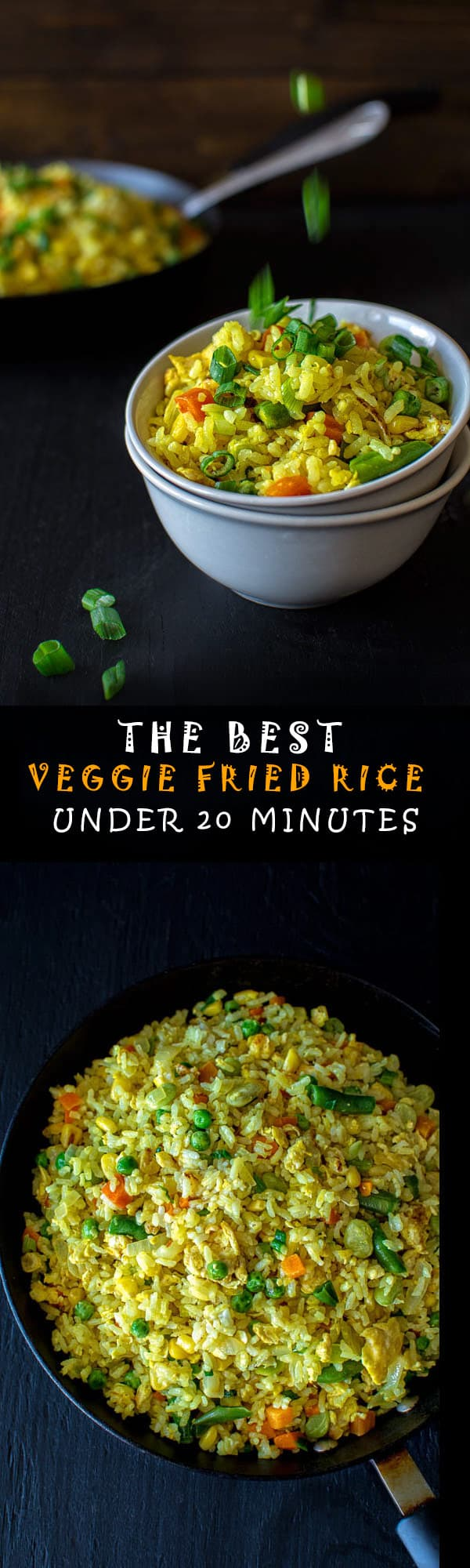 This is hands down the best fried rice recipe you will find. I have tried many and this one is a winner by far. Ready in 20 minutes! ❤ COOKTORIA.COM