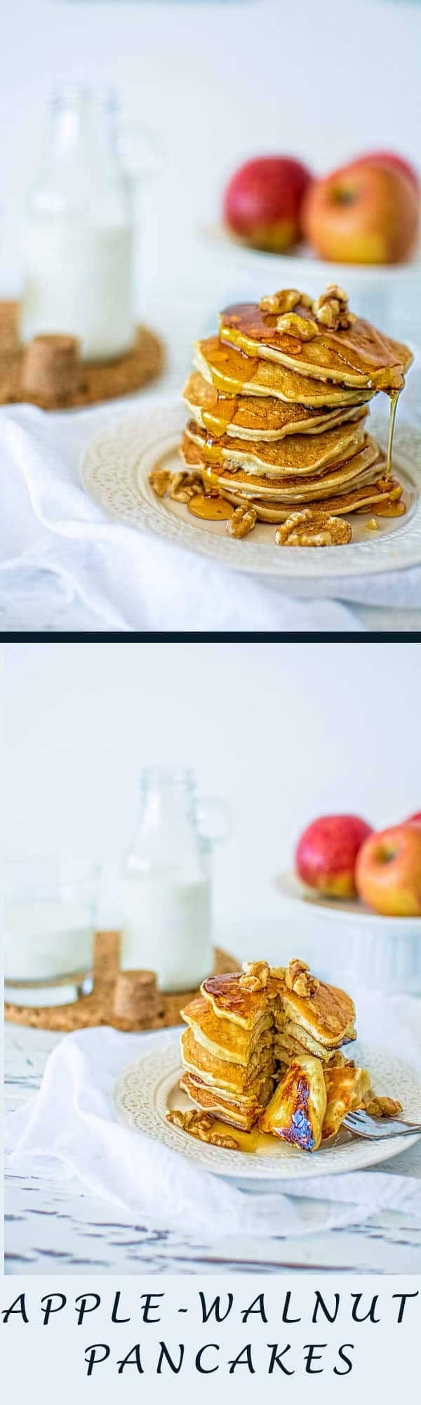 Cinnamon Apple Walnut Pancakes Recipes — Dishmaps