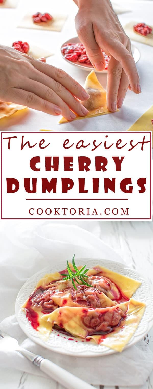 Dumplings with frozen cherries: recipes 60