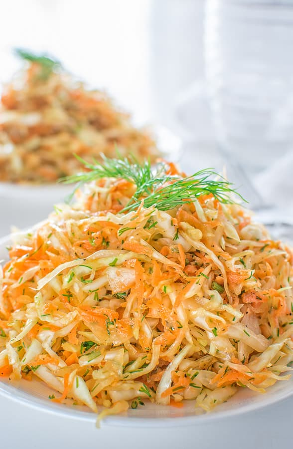 This Skinny Cabbage Salad Is The Perfect Recipe For Summer Light Fresh Healthy