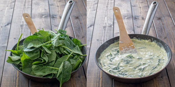 These 5-ingredient Creamy Spinach Tortellini make a quick and tasty dinner that all family will love! ❤ COOKTORIA.COM