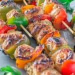 Very tender and so flavorful, these Easy Chicken Kebabs are MUST TRY this summer! This is my go-to kebab recipe. ❤ COOKTORIA.COM