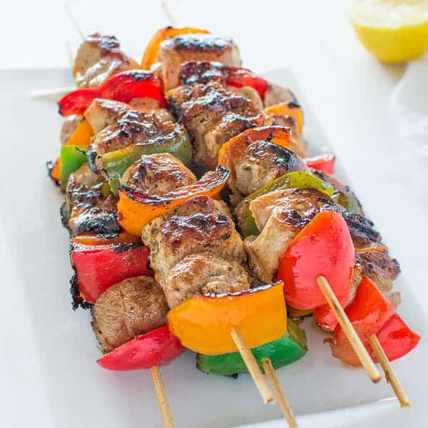 easy chicken kebabs   cooktoria