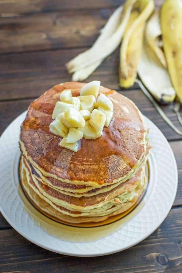 Healthy Banana Pancakes Cooktoria