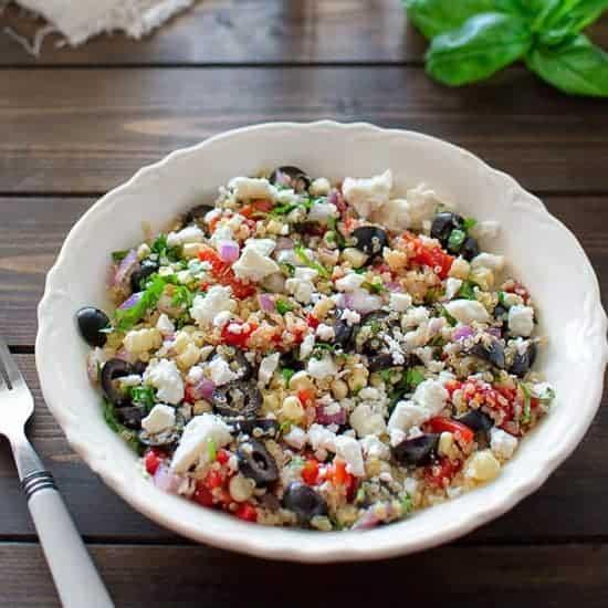 Mediterranean Quinoa Salad Cooktoria