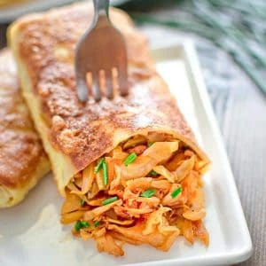 Try these scrumptious Cabbage Filled Crepes for lunch or dinner and you won't be disappointed. ❤ COOKTORIA.COM