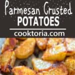These tasty Parmesan Crusted Potatoes are so addictive, that you won't be able to stop eating until you finish them all! ❤ COOKTORIA.COM