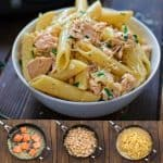 This simple and elegant Creamy Salmon Penne makes a quick and filling dinner that your family will love! This simple and elegant Creamy Salmon Penne makes a quick and filling dinner that your family will love! ❤ COOKTORIA.COM
