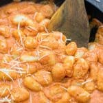 This creamy, flavorful, and easy-to-makeGnocchi in Sun-Dried Tomato Sauce is one of the most loved recipes in my family. The sauce is truly addictive! ❤ COOKTORIA.COM