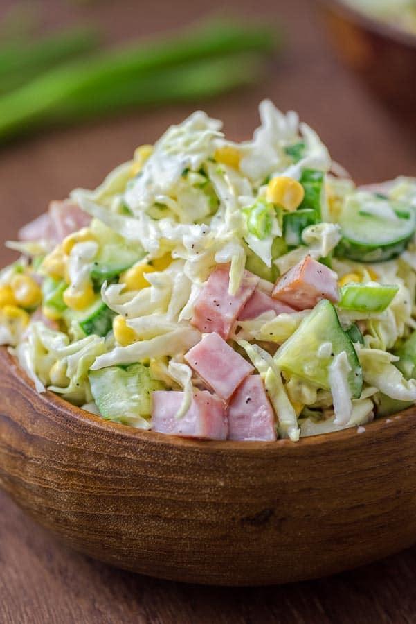 Ham Salad Lunch Recipe
