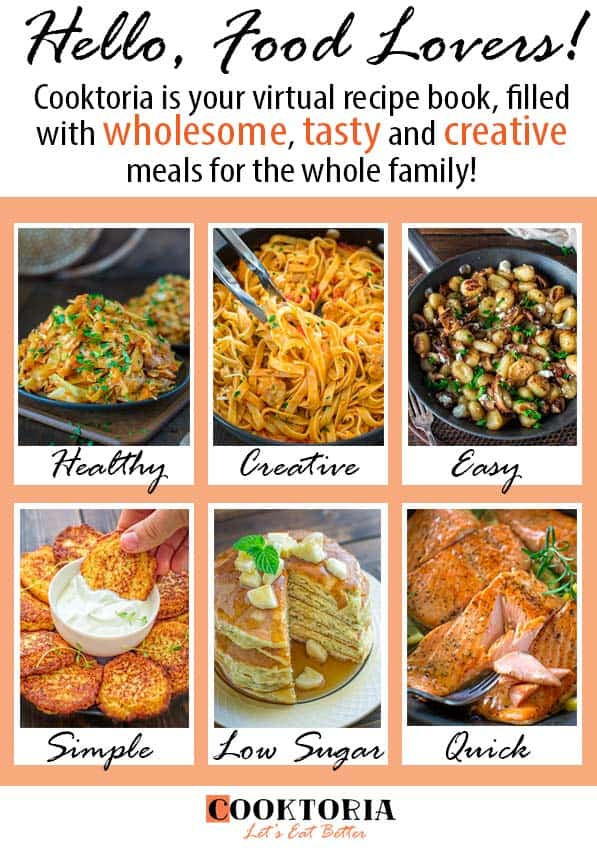 Cooktoria - A healthy food blog filled with tasty and easy recipes with Mediterranean twist