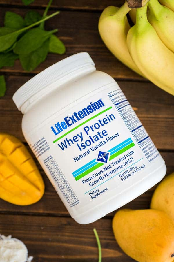 Whey Protein Isolate Natural Vanilla Flavor by LifeExtentions