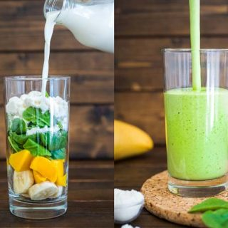 Green Mango Protein Smoothie