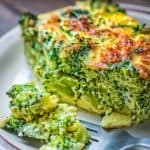 ThisBreakfast Broccoli Bake made with eggs, Provolone, and feta cheeseis healthy, filling and delicious way to start your day! That's the only Broccoli Bake recipe you'll ever need.