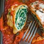 Filling, comforting, and delicious, these Cheesy Spinach Lasagna Rolls make a perfect vegetarian dinner for all family! Follow my step-by-step photo (or video) instructions to create this delicious meal.