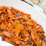 This Roasted Pumpkin Salad is easy to make, delicious, and healthy. The flavors of lemon dressing pair so well with the sweet pumpkin!