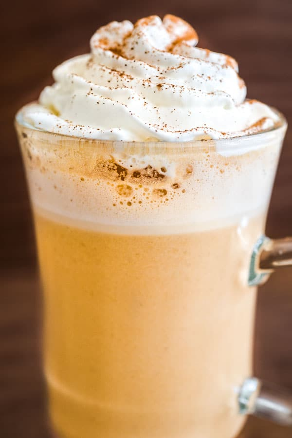 This is hands down the best and the easiest Copycat Starbucks Pumpkin Spice Latte recipe you'll find. My photo and video instructions will help you make your favorite drink at home!