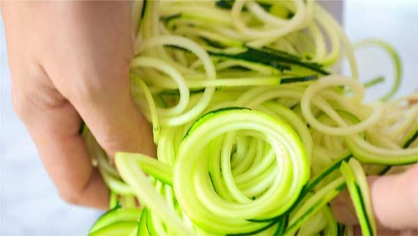 Spiralized-Zucchini