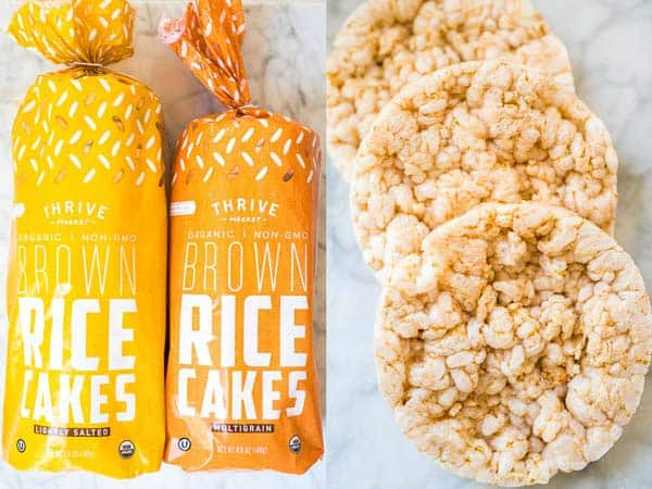 rice cakes from Thrive Market