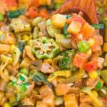 This Ultimate Vegetable Stew, is hands down THE BEST, EASIEST, and TASTIEST ever. There are so many ways to serve this scrumptious vegan stew! You need to try it! ❤ COOKTORIA.COM