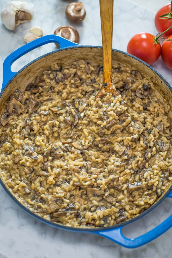 If you are looking for a staple Mushroom Risotto recipe, you've come to the right place! This is hands-down THE BEST Mushroom Risotto you'll ever try! ❤ COOKTORIA.COM