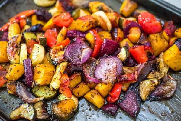 Oven Roasted Vegetables Cooktoria