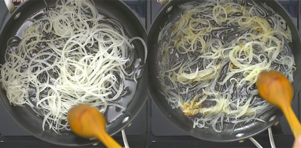 frying spiralized potatoes
