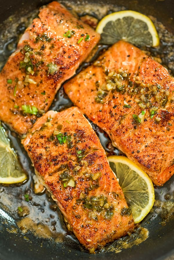 This Cajun Salmon recipe is an ultra-easy and flavorful dinner to make during your busy weeknights. It's ready in less than 30 minutes.