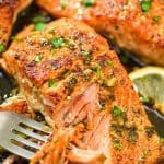 This Cajun Salmon recipe is an ultra-easy and a flavorful dinner to make during your busy weeknights. It's ready in less than 30 minutes.