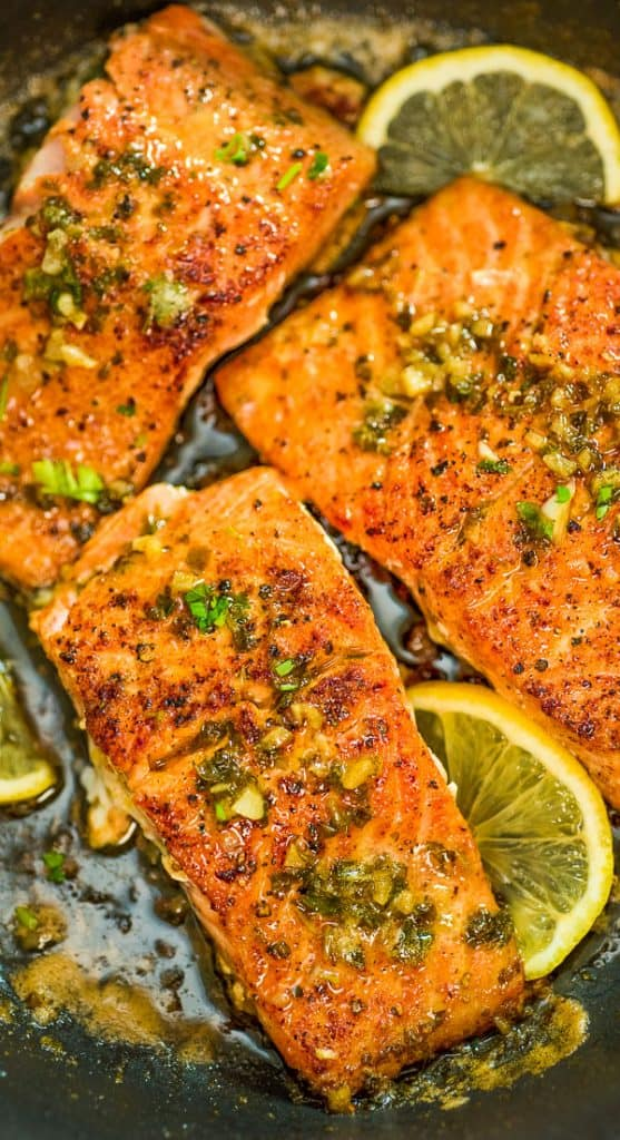 This Cajun Salmon recipe is an ultra-easy and flavorful dinner to make during your busy weeknights. It's ready in less than 30 minutes. #salmon #dinner #easyrecipe #keto #ketorecipe #seafood #fish