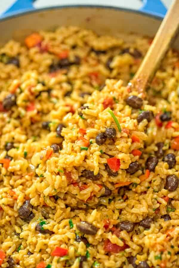 Red Rice And Beans Recipe Cooktoria