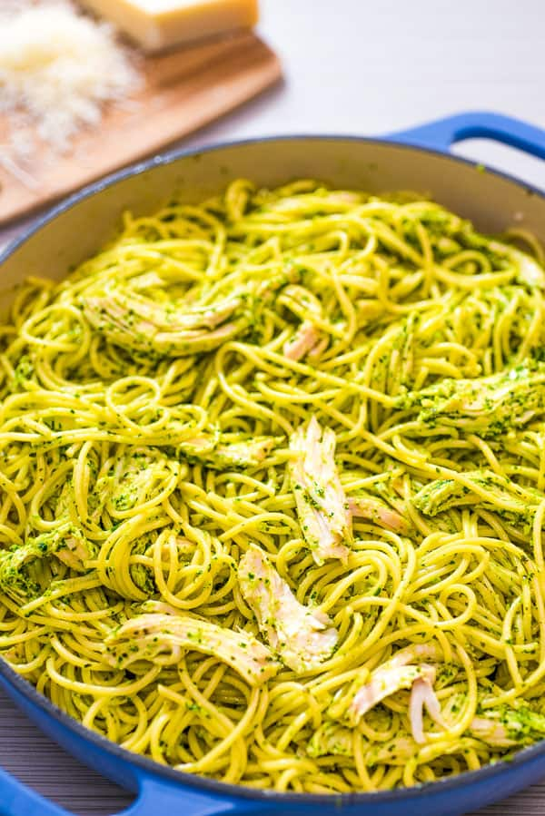 Chicken Pesto Pasta Cooktoria