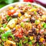 Tex Mex Quinoa Salad | COOKTORIA