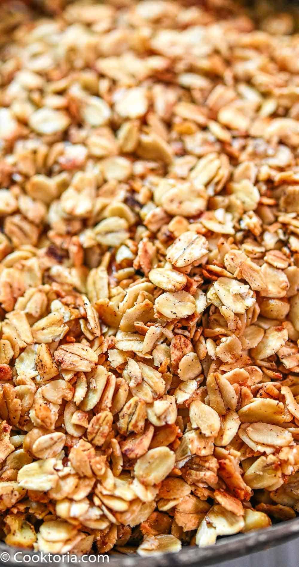 Simple Homemade Granola Recipe   COOKTORIA